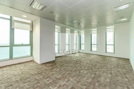 مکتب  للايجار في شارع الكورنيش، أبوظبي - Fully fitted office for Rent in Corniche