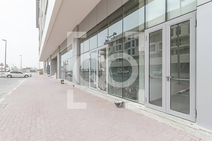 2 Brand New Retail Shop | Shell and Core | Corner Building