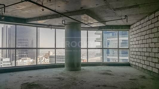 Office for Sale in Barsha Heights (Tecom), Dubai - Road View Shell and Core Office in Smart Heights