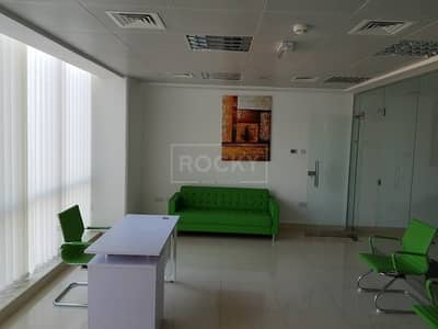 Office for Sale in Dubai Silicon Oasis, Dubai - Fully fitted furnished office Silicon Oasis