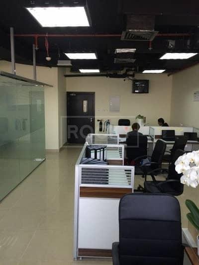 Office for Sale in Dubai Silicon Oasis, Dubai - Fully Fitted  Office  in   Silicon Oasis