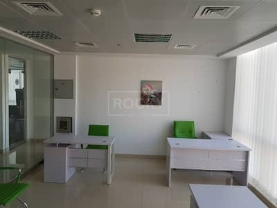 Office for Rent in Dubai Silicon Oasis, Dubai - Fully Fitted Office in IT Plaza Silicon Oasis