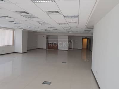 Office for Rent in Jumeirah Lake Towers (JLT), Dubai - Fitted Office with Lake View in HDS Tower JLT