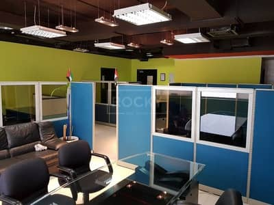 Office for Sale in Dubai Silicon Oasis, Dubai - Fitted and Furnished Office in IT Plaza