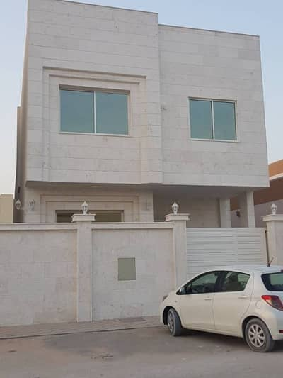 For rent villa in front of the first stone of central adaptation in Al Rawda