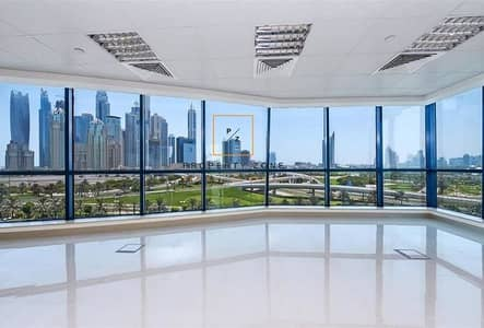 Office for Rent in Jumeirah Lake Towers (JLT), Dubai - Amazing View Higher Floor Fitted Office Space