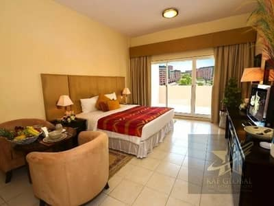 Furnished Spacious Studio Flat For Sale In Mogul Cluster