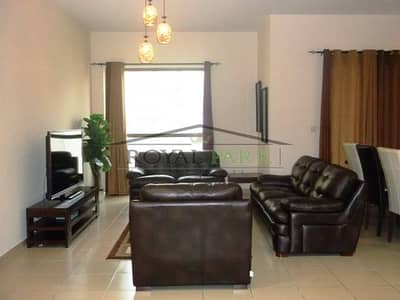Furnished 3 BR Apartment with sea view for RENT  in JBR