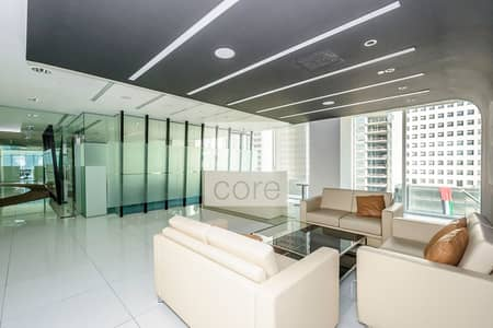 Office for Rent in Downtown Jebel Ali, Dubai - Furnished fitted office in The Galleries