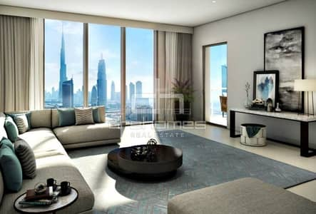 3 Bedroom Flat for Sale in Downtown Dubai, Dubai - 3BED/ DOWNTOWN VIEWS II/ 5 YEARS POST HANDOVER PAYMENT