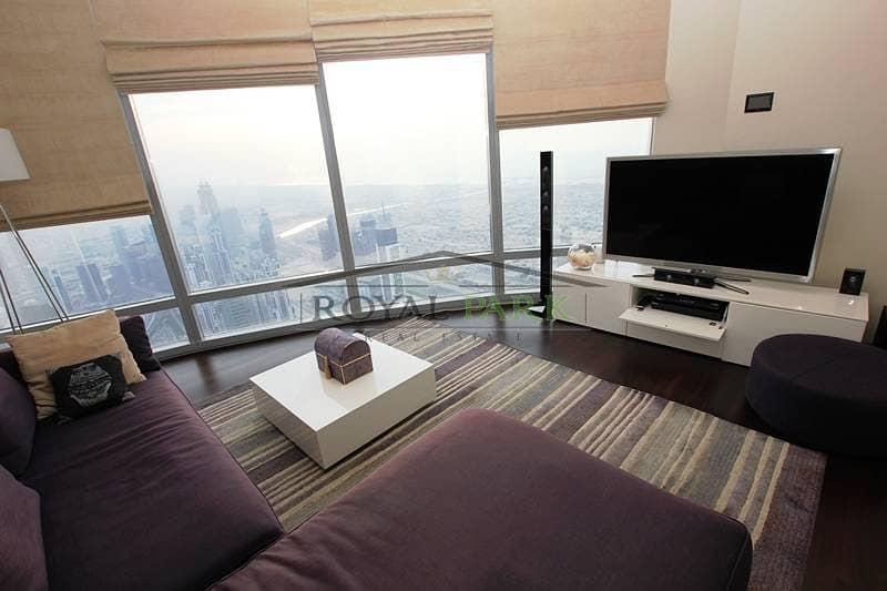 شقة في برج خليفة دبي وسط المدينة 4 غرف 16000000 درهم   2453318