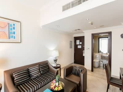 1 Bedroom Apartment for Rent in Al Barsha, Dubai - AMAZING ONE BEDROOM FULLY FURNISHED FLAT WITH  A SPACIOUS TERRACE