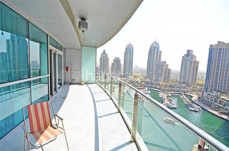 1 Bedroom Flat for Sale in Dubai Marina, Dubai - | Full Marina view | Vacant on Transfer |