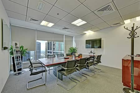 Fitted and Partitioned Office Space JLT