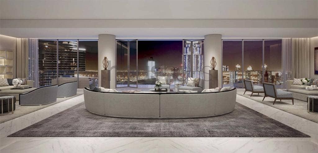 Half floor | 4 bed | Full Fountain views