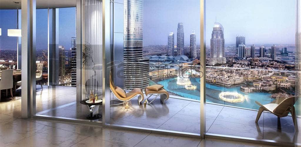 2 Half floor | 4 bed | Full Fountain views