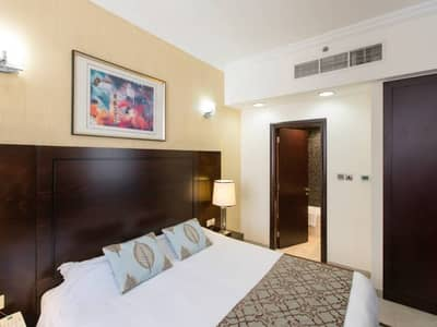 1 Bedroom Flat for Rent in Al Barsha, Dubai - LOVELY FULLY FURNISHED 1BHK  WITH SPECTACULAR VIEW, AC FREE