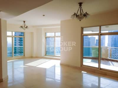 3 Bedroom Flat for Sale in Dubai Marina, Dubai - 3 Bedrooms with Spectacular Marina View