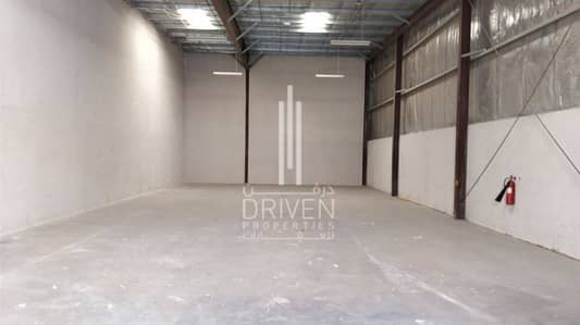 Warehouse for Rent in Industrial Area, Sharjah - Vacant l For Rent Semi-Fitted Warehouse.