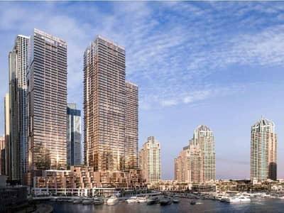 4 Bedroom Villa for Sale in Dubai Marina, Dubai - Luxury Waterfront Villa in| Jumeirah Living Marina Gate 1