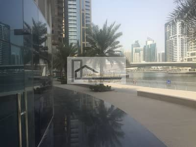 Shop for Rent in Dubai Marina, Dubai - Big size shop is available for rent At Marina view