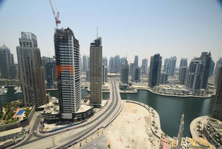 3 Bedroom Apartment for Rent in Dubai Marina, Dubai - Panoramic Sea View|Sky View|Dubai Marina