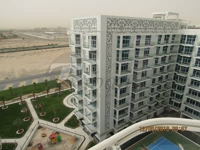 2 Bedroom Flat for Rent in Dubai Studio City, Dubai - Brand New Two Bed Room  In Glitz 3 Studio City