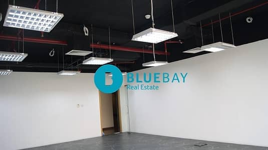 Office for Rent in Dubai Media City, Dubai - Fitted Office with City View in Shatha Tower