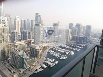 3 Bedroom Flat for Rent in Dubai Marina, Dubai - Full Marina View