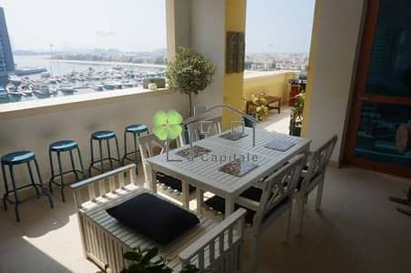 2 Bed + Maid w/ Sea View in Marina Residences 2