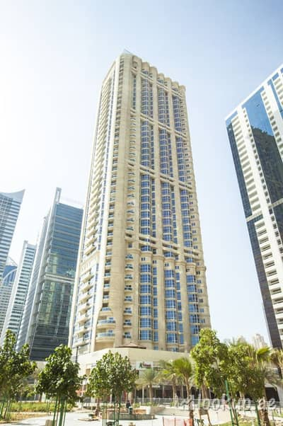 Studio for Rent in Jumeirah Lake Towers (JLT), Dubai - Studio (Fully New Furnished) with big size balcony for rent in JLT Dubai Gate 1(near metro)45k