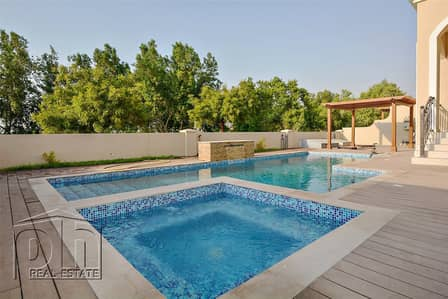 5 Bedroom Villa for Sale in Jumeirah Golf Estate, Dubai - Move into this beautiful Golf Course villa