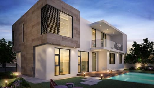 Own new amazing villa in sharjah with nice payment plan 0 service charge (Free Hold)