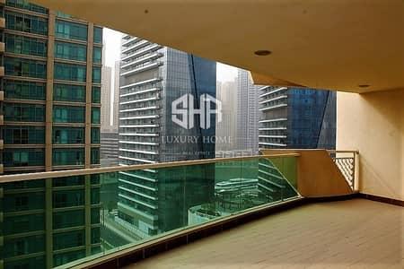 3 Bedroom Flat for Rent in Dubai Marina, Dubai - 3 BR Apartment in marina sail building - Marina mansion