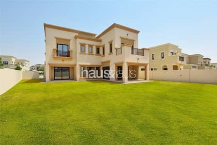 4 Bedroom Villa for Sale in Arabian Ranches 2, Dubai - Type 3 | Corner park views plot | Vacant