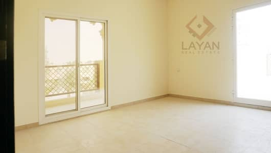 2 Bedroom Apartment for Sale in Remraam, Dubai - Rented 2 bedroom apartment with large terrace