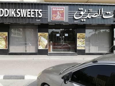 Shop for Rent in Al Majaz, Sharjah - 3 Shutter Shop Available for rent in Jamal Abdul Naser Street, Sharjah.