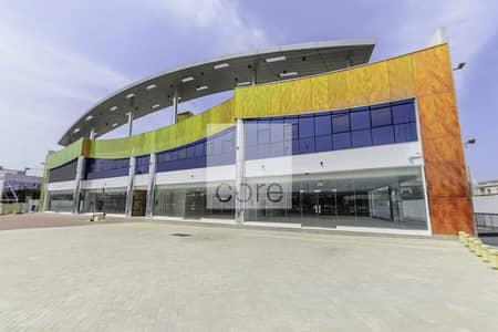 Fitted half floor offices in Indigo Sky