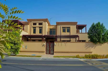 6 Bedroom Villa for Sale in Al Raha Golf Gardens, Abu Dhabi - Hottest Deal!! With private pool 6br villa in Golf Gardens