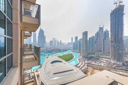 1 Bedroom Apartment for Sale in Downtown Dubai, Dubai - Best Deal 1 BR Apt w/ Full Fountain View Vacant