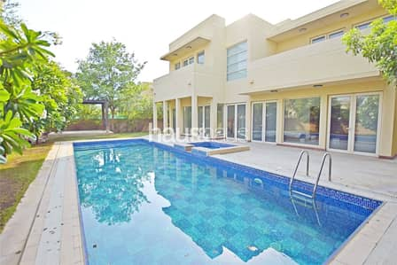 5 Bedroom Townhouse for Rent in Arabian Ranches, Dubai - Immaculate Saheel Type 4 | Pool | Vacant