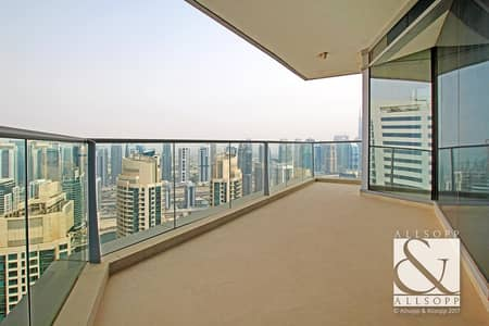 3 Bedroom Apartment for Sale in Dubai Marina, Dubai - 3 Bed Plus Maid's | Marina View | Vacant