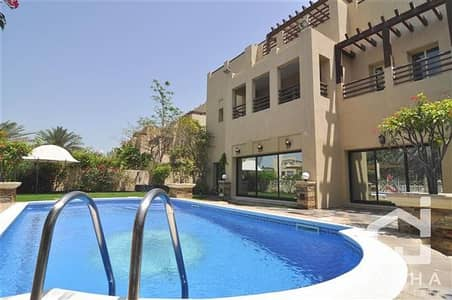 6 Bedroom Villa for Rent in The Lakes, Dubai - 6 Bedrooms E1 Hattan Villa