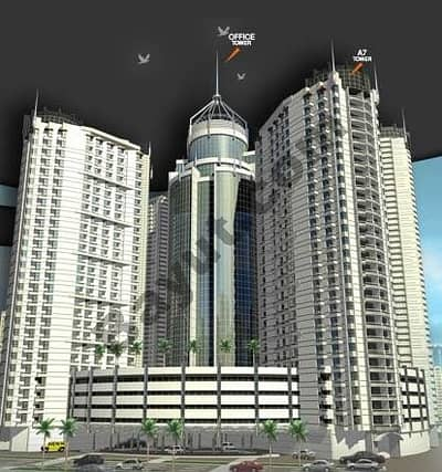 Office for Sale in Ajman Downtown, Ajman - Falcon Tower Exterior2