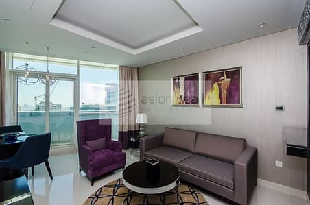 Fully Furnished 1BR Luxury Service Suite