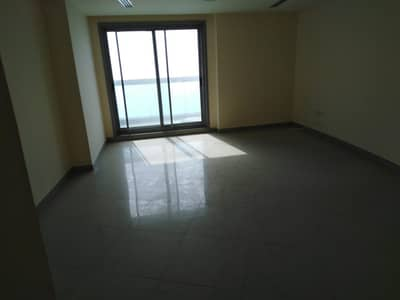 2 Bedroom Apartment for Rent in Corniche Ajman, Ajman - Chiller Free Sea View  Biggest 2 B/R Hall in Cornish Tower Available For Rent
