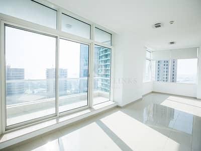 1 Bedroom Apartment for Rent in Dubai Marina, Dubai - Sea View | Large Modern 1 Bd Unfurnished