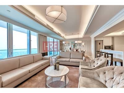 4 Bedroom Flat for Sale in Downtown Dubai, Dubai - Motivated Seller. Vacant. High Floor. Must See.