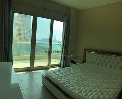 2 Bedroom Apartment for Rent in Dubai Marina, Dubai - Fully Furnished Sea View 2 Beds in Royal Oceanic