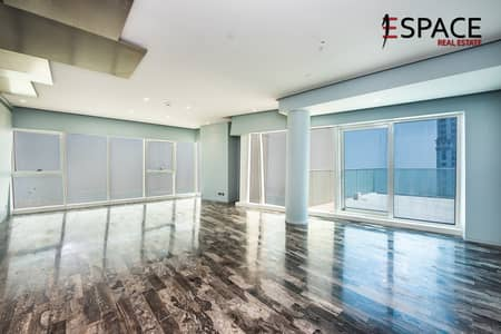 4 Bedroom Apartment for Rent in Dubai Marina, Dubai - Exclulsive Fendi Penthouse - Panoramic Sea view - Vacant